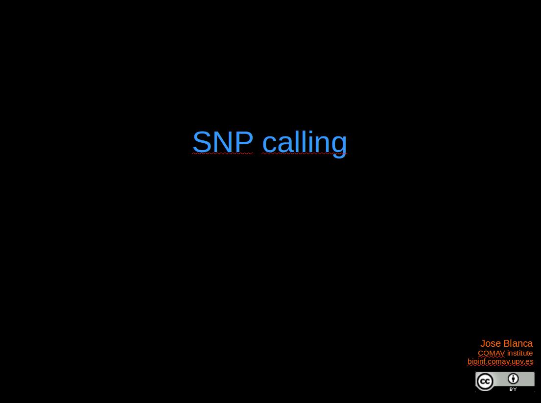 SNP calling — Bioinformatics at COMAV 0 1 documentation